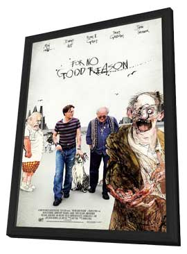 For No Good Reason - 27 x 40 Movie Poster - Style A - in Deluxe Wood Frame