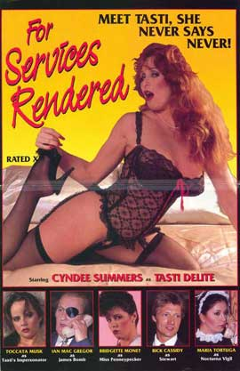 For Services Rendered - 27 x 40 Movie Poster - Style A