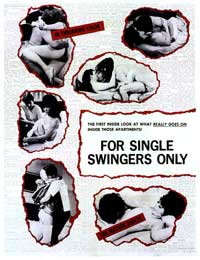 For Single Swingers Only - 11 x 17 Movie Poster - Style A