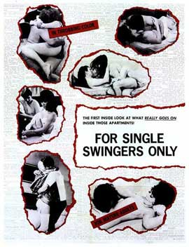For Single Swingers Only - 27 x 40 Movie Poster - Style A