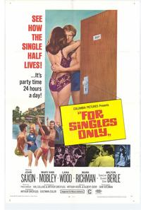 For Singles Only - 11 x 17 Movie Poster - Style A