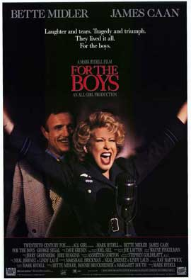 For the Boys - 27 x 40 Movie Poster - Style A