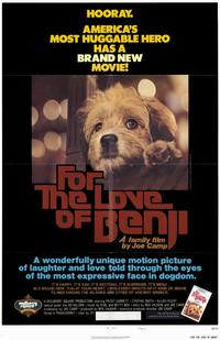 For the Love of Benji - 11 x 17 Movie Poster - Style A