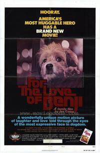 For the Love of Benji - 27 x 40 Movie Poster - Style A
