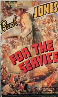 For the Service - 27 x 40 Movie Poster - Style C