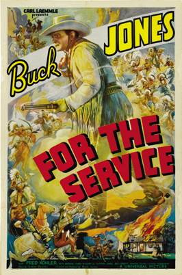 For the Service - 11 x 17 Movie Poster - Style B