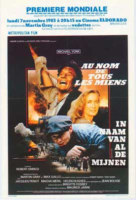 For Those I Loved - 11 x 17 Movie Poster - Belgian Style A