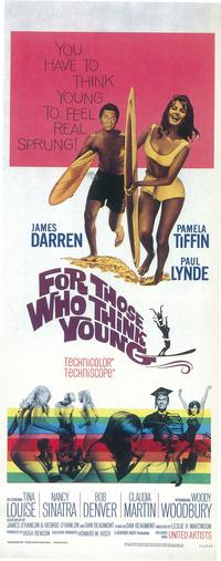 For Those Who Think Young - 27 x 40 Movie Poster - Style A