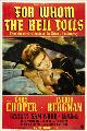 For Whom the Bell Tolls - 11 x 17 Movie Poster - Style B