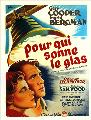 For Whom the Bell Tolls - 27 x 40 Movie Poster - French Style A
