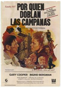For Whom the Bell Tolls - 27 x 40 Movie Poster - Foreign - Style A