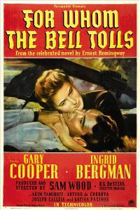 For Whom the Bell Tolls - 43 x 62 Movie Poster - Bus Shelter Style A