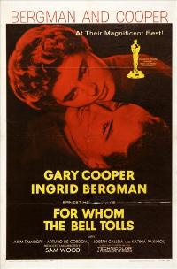 For Whom the Bell Tolls - 27 x 40 Movie Poster - Style C