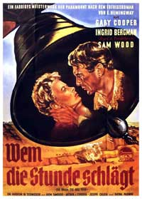 For Whom the Bell Tolls - 11 x 17 Movie Poster - German Style B