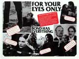 For Your Eyes Only - 11 x 17 Movie Poster - Style E