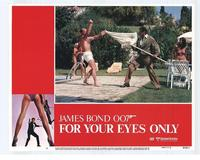 For Your Eyes Only - 11 x 14 Movie Poster - Style E