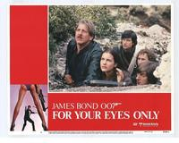For Your Eyes Only - 11 x 14 Movie Poster - Style F