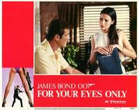 For Your Eyes Only - 11 x 14 Movie Poster - Style G