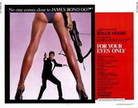 For Your Eyes Only - 11 x 14 Movie Poster - Style I