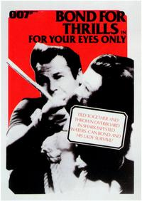 For Your Eyes Only - 11 x 17 Movie Poster - Style F