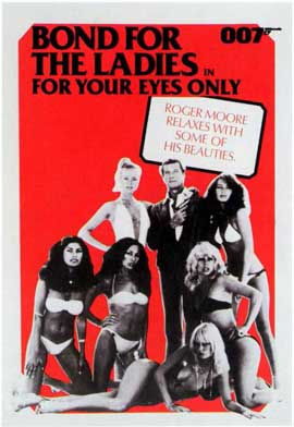 For Your Eyes Only - 11 x 17 Movie Poster - Style G