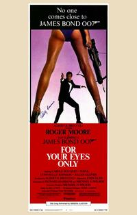For Your Eyes Only - 11 x 17 Movie Poster - Style J