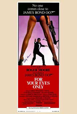 For Your Eyes Only - 27 x 40 Movie Poster - Style B