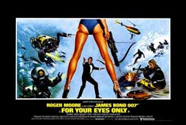 For Your Eyes Only - 27 x 40 Movie Poster - Foreign - Style A