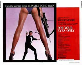 For Your Eyes Only - 22 x 28 Movie Poster - Half Sheet Style A