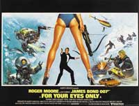 For Your Eyes Only - 30 x 40 Movie Poster UK - Style A