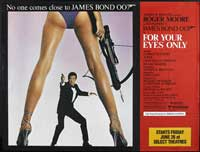 For Your Eyes Only - 22 x 28 Movie Poster - Half Sheet Style B