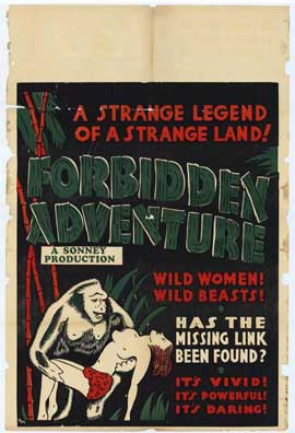 Forbidden Adventure - 11 x 17 Movie Poster - Style A