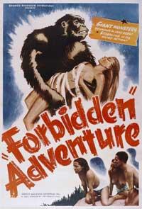 Forbidden Adventure - 11 x 17 Movie Poster - Style B