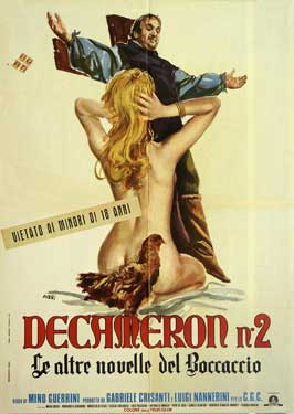 - 11 x 17 Movie Poster - Italian Style A