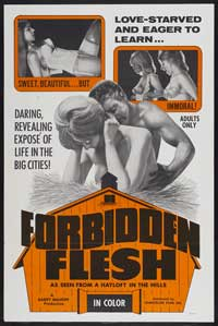 Forbidden Flesh - 43 x 62 Movie Poster - Bus Shelter Style A