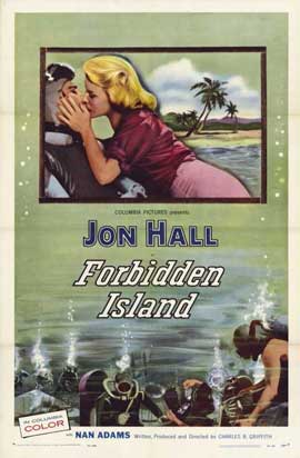 Forbidden Island - 11 x 17 Movie Poster - Style A