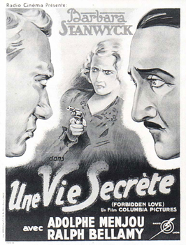 Forbidden - 11 x 17 Movie Poster - French Style A