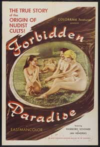 Forbidden Paradise - 43 x 62 Movie Poster - Bus Shelter Style A