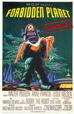 Forbidden Planet - 11 x 17 Movie Poster - Style A