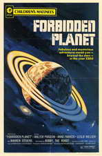Forbidden Planet - 11 x 17 Movie Poster - Style B