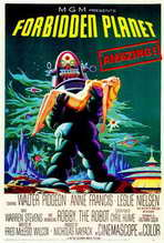 Forbidden Planet - 27 x 40 Movie Poster - Style A
