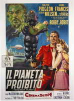 Forbidden Planet - 27 x 40 Movie Poster - Italian Style B