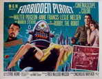 Forbidden Planet - 11 x 14 Movie Poster - Style C