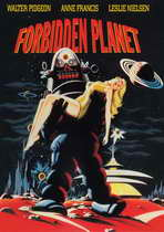 Forbidden Planet - 11 x 17 Movie Poster - Style D