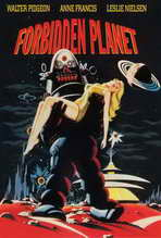 Forbidden Planet - 27 x 40 Movie Poster - Style D