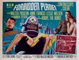 Forbidden Planet - 11 x 17 Movie Poster - Style F