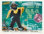 Forbidden Planet - 11 x 17 Movie Poster - Style G