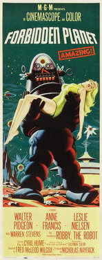 Forbidden Planet - 11 x 17 Movie Poster - Style H