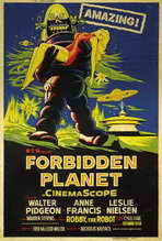 Forbidden Planet - 27 x 40 Movie Poster - Style G