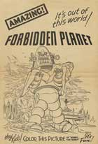 Forbidden Planet - 27 x 40 Movie Poster - Style H